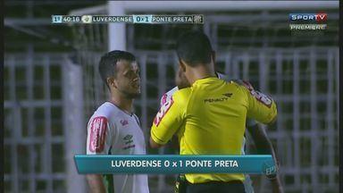 Ponte Preta vence Luverdense por 1 a 0 e se recupera na série B do Campeonato Brasileiro - Time conseguiu se reabilitar após a derrota em casa para o Atlético Goianiense. Agora, Macaca pensa em alcançar o G4 para voltar à elite do Campeonato Brasileiro.