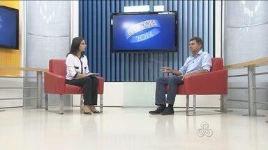 Rondônia TV inicia rodada de entrevistas com candidatos ao governo de Rondônia - O primeiro entrevistado, escolhido por sorteio, foi Expedito Júnior, do PSDB.
