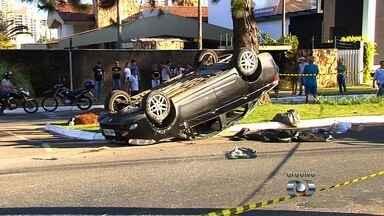 Pai de menino morto em acidente nega que dirigia em alta velocidade, em Goiânia - O pai, o veterinário José Antônio Ramos, 54, assumiu o erro pela forma em que o garoto era transportado, mas negou que dirigisse em alta velocidade, como afirmou o outro motorista envolvido no caso.