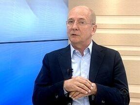 Candidato ao governo de SC, Paulo Bauer, do PSDB, apresenta suas propostas - Candidato ao governo de SC, Paulo Bauer, do PSDB, apresenta suas propostas