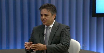 Cássio Cunha Lima deu sequência às entrevistas do JPB1 - Candidato disse que vai investir no diálogo.