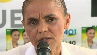Marina Silva faz campanha em Curitiba, Florianópolis e Porto Alegre - A candidata pelo PSB visitou as três capitais da Região Sul. Em Curitiba, Marina Silva disse que pretende mudar o sistema de arrecadação de impostos para reduzir a carga tributária.