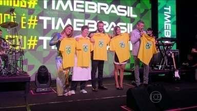 COB apresenta a logomarca das equipes brasileiras nas Olimpíadas de 2016 - A nova logomarca, lançada na noite de terça-feira (23), pretende aproximar o torcedor dos atletas brasileiros nas Olimpíadas do Rio de Janeiro.