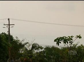 Temperatura diminui após chuva de 30 minutos em Palmas - Temperatura diminui após chuva de 30 minutos em Palmas