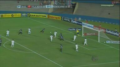 Ponte Preta vence o Vila Nova em Goiânia e consolida boa fase na Série B - Macaca venceu o time goiano por 3 a 0, com gols de Renato Cajá, Thiago Alves e Roni. O Vila Nova ainda perdeu um pênalti.