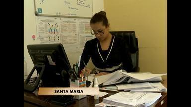 Funcionários da Casa de Saúde e UPA de Santa Maria, RS, aderem a paralisação nacional - Eles pedem mais investimentos e repasses para as Santas Casas e hospitais filantrópicos.