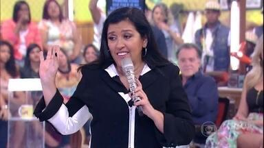 Regina Casé levanta o tema cabelo no palco do Esquenta! - Convidados comentam sobre a importância do cabelo para a autoestima