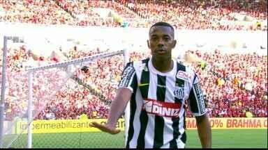 Santos vence o Flamengo no Maracanã com gol de Robinho - Veja como foi mais uma vitoria do Peixe no Rio de Janeiro