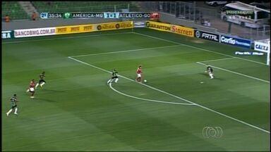 Técnico do Atlético-GO lamenta gols perdidos contra o América-MG - Segundo Wagner Lopes, chances desperdiçadas não foram por falta de treinamento.