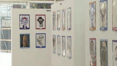 Artistas de todo o país expõem obras no 27º Salão de Humor de Volta Redonda, RJ - Mostra pode ser visitada até dia 26 de outubro, no Espaço das Artes Zélia Arbex, no bairro Vila Santa Cecília.