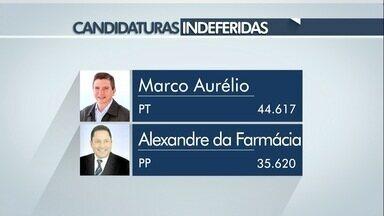 Quatro candidatos a deputado estadual da região tem a candidatura indeferida - Os votos deles são computados como nulos pela Justiça Eleitoral.
