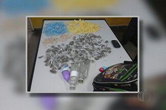 Polícia apreende menor suspeito de tráfico de drogas em Poá - Segundo a PM, com ele estava 129 pinos e 55 pedras de crack e 177 trouxinhas de maconha.