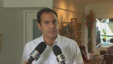 Paulo Câmara fala das prioridades à frente do governo de Pernambuco - Presidente estadual do PSB diz quem o partido vai apoiar no segundo turno.
