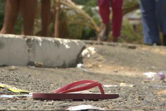 Enterrado corpo de menina de 4 anos atingida por tiro em Salvador - A criança estava acompanhada da mãe no bairro de Mussurunga quando foi atingida, no domingo (5).
