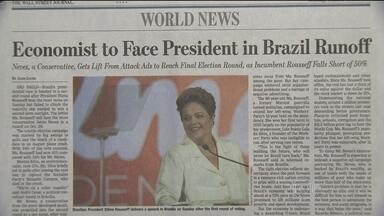Imprensa estrangeira destaca eleições no Brasil - Jornalistas do mundo buscaram adjetivos para definir o que foi a eleição no Brasil. O espanhol El País chamou a disputa de montanha russa, reflexo de uma campanha imprevisível e hipnótica.