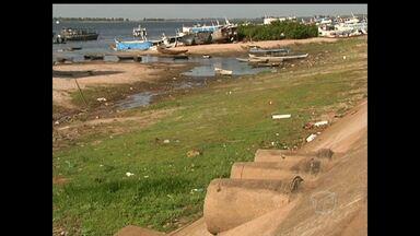 Patrimônio cultural do Pará, Encontro das Águas é poluído por nove esgotos - Problema contrasta com a beleza do local e causa má impressão a moradores e turistas.