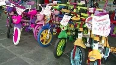 Veja algumas opções de presentes para o Dia das Crianças, no Sul do ES - Data já tradicional é comemorada no doa 12 de outubro. Lojas trazem diversas opções de brinquedos e preços.
