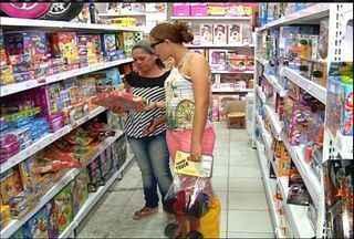 Dia das Crianças movimenta o comércio da Região do Cariri - Lojistas esperam boas vendas neste fim de semana.