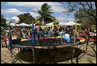 O domingo foi de muita alegria e diversão no Parque Josepha Coelho - Esta foi e 10ª Edição no Criança no Parque