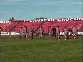 Após conseguir a vaga na Série C, o Xavante voltou a treinar - O time quer agora a conquista da Série D do Brasileiro