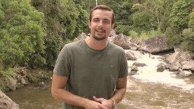 Expedição Terra: projeto estuda qualidade dos rios na serra fluminense - Pesquisadores e alunos avaliam a qualidade das águas na região de Lumiar, no Rio de Janeiro
