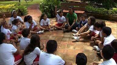 Crianças brincam de fazendinha em duas escolas de Aracaju - Crianças brincam de fazendinha em duas escolas de Aracaju.