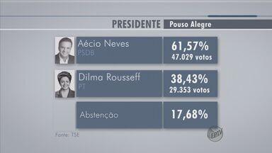 Veja os números do segundo turno no Sul de Minas - Veja os números do segundo turno no Sul de Minas