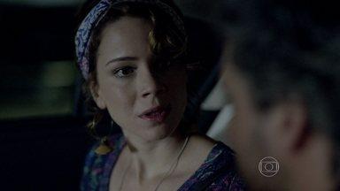 Cristina exige que José Alfredo faça o exame de DNA - Sobrinha de Cora garante que não está interessada na herança do Comendador