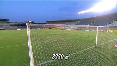 Maior campo entre os estádios do Brasileirão, Serra Dourada testará fôlego do Fluminense - Em casa, Esmeraldino perdeu apenas três vezes.