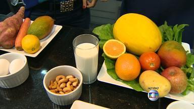 Nutricionista explica quais são os melhores alimentos para cada etapa da vida - Veja a entrevista com Raphaela Coredeiro.