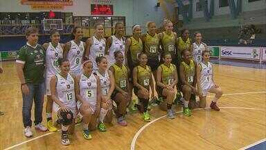 América apresenta oficialmente time feminino de basquete que disputará a Liga Nacional - Praticamente todo time americano é composto de ex-jogadoras do Sport, campeães e vice nos últimos Brasileiros