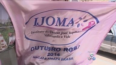 Caminhada em Macapá encerra o Outubro Rosa na capital - Caminhada em Macapá encerra o Outubro Rosa na capital