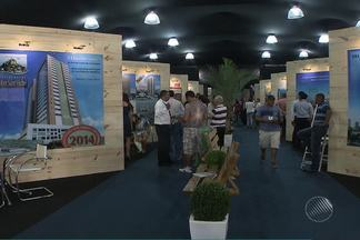 Salão Imboliário foi aberto nesta sexta-feira (31) em shopping de Salvador - Só no primeiro dia, o evento já atraiu 1,5 pessoas ao local.