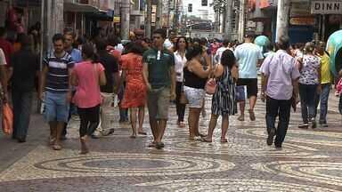 Polícia planeja intensificar trabalho ostensivo no centro da capital - Polícia planeja intensificar trabalho ostensivo no centro da capital por causa das compras de fim de ano