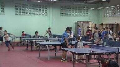 Torneio escolar de tênis de mesa - A quarta etapa do ranking escolar da Baixada Santista de tênis de mesa foi disputada no Saldanha da Gama, em Santos.