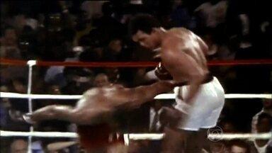 Esporte Espetacular relembra a luta do século entre Muhammad Ali e George Foreman, em 1974 - Quarenta anos atrás, duelo entre pesos pesados do boxe, no antigo Zaire, na África, foi assistido por milhões de pessoas.
