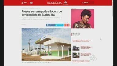 Confira os destaques do Portal G1 de Rondônia desta sexta-feira (31) - www.g1.com/ro