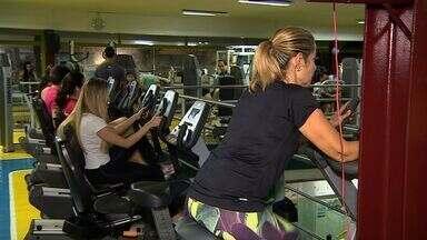 Cresce o número de pessoas em academias de ginástica em Sergipe - Cresce o número de pessoas em academias de ginástica em Sergipe.