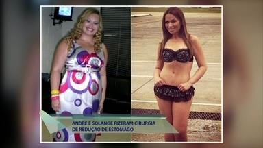 Solange Almeida e André Marques contam como superaram dificuldades da cirurgia bariátrica - Eles afirmam que a operação mudou a completamente a rotina