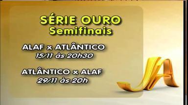 Confira datas das semifinais da Série Ouro do Futsal - A decisão na final é no Caldeirão do Galo.