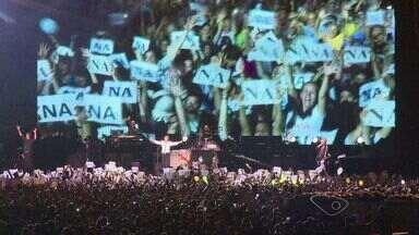 Para fãs, show de Paul McCartney no ES foi 'inesquecível' - Ex-beatle se apresentou pela primeira vez no estado.Cerca de 33 mil pessoas estiveram em estádio de Cariacica.