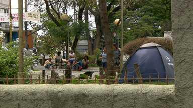 População de moradores de rua aumenta em Belo Horizonte - Segundo censo, aumento foi de 57% em oito anos