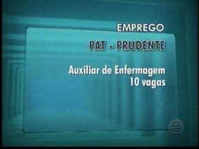Terça-feira é dia de oportunidades de emprego - Confira as vagas disponíveis em Presidente Prudente.