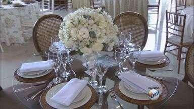 Feira de noivas traz novidades para festas e cerimônias em São Carlos - Feira de noivas traz novidades para festas e cerimônias em São Carlos.