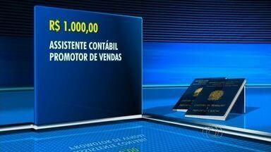 Veja novas vagas de emprego para Goiânia - Empresa contrata assistente contábio e promotor de vendas com salário de R$ 1 mil