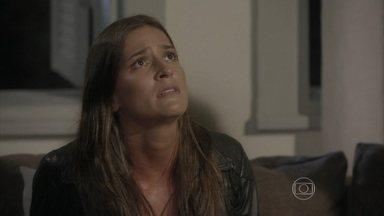 Nat ouve Heideguerser avisado sobre acidentede Alan - A lutadora fica desesperada e enfrenta o doutor. Lobão abandona o carrona estrada