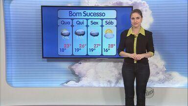 Confira a previsão do tempo no Sul de Minas para esta quarta-feira (26) - Confira a previsão do tempo no Sul de Minas para esta quarta-feira (26)