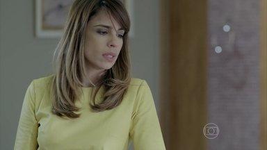 Danielle teme que Du perca o filho - Silviano se preocupa com o estado de saúde da garota