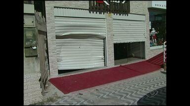 Loja é arrombada por criminosos em bairro de Cachoeiro, ES - Loja foi assalta pela segunda vez em 15 dias.