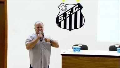 Odílio se defende das críticas e faz balanço de seu mandato no Santos - Peixe elege seu novo presidente neste sábado
